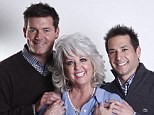 Happier times: Paula made her fortune touting the joys of Southern cuisine, and her sons have followed her into the food business