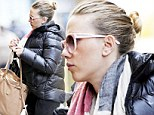 Even the world's sexiest woman alive has off days: A dowdy-looking Scarlett Johansson steps out in New York