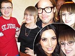 'Stalker Sarah' - an internet sensation who has amassed thousands of photos of herself with celebrities ¿ defended the Two and a Half Men star.