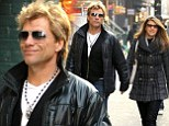 Jon Bon Jovi Out and About in New
