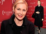 Brave face: Kelly Rutherford attended the World AIDS Day event in NYC while her custody battle rages on