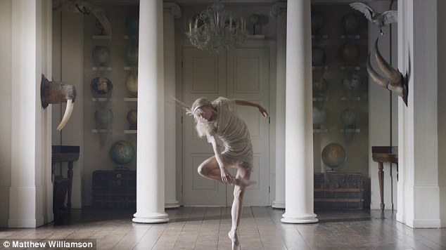 Tiptoes: A dancer performs one of Wayne McGregor's moves in the film