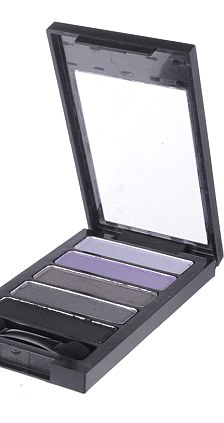 Purple shadow compact