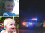 Tragedy: Two-year-old William (bottom) died on Tuesday in Colorado while his four-year-old brother Tyler (top) is seriously ill. The two had been left by their mother Heather in an SUV with the engine running for 90 minutes