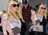 Jessica Simpson keeps mum amid rumours she is pregnant again¿ as it is revealed she 'plans to marry before baby's birth'
