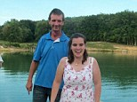 Caught: Michael McCarrell, left, and his new wife, Amanda, right, were arrested in Nashville for allegedly transporting a 17-year-old girl for sexual purposes