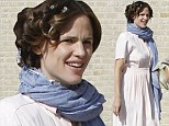 No Hollywood glamour here: Jennifer Garner steps out in her frumpiest outfit yet on the set if Dallas Buyer's Club