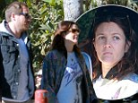 Why so serious? A glum looking Drew Barrymore takes time off from new mummy duties