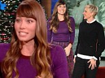 Newlywed glow: Jessica Biel tells Ellen DeGeneres on Monday's show that marriage feels 'incredible'