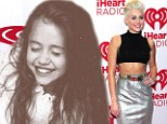 Flashback to cuteness! Miley Cyrus tweets picture of herself as smiling preteen... all gaping teeth and tangled hair