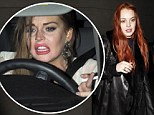 Lindsay Lohan's friends are begging her to go to rehab - but she says no! no! no!