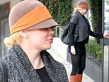 Blonde bombshell! Rose McGowan debuts new blonde hairdo as she steps out in Los Angeles