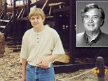 Hero: James Krumm, 56, is being hailed a hero after his son Christopher's grisly classroom attack
