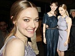 Anne's style hath been taken away! Ms Hathaway loses out in the fashion stakes as Les Mis co-star Amanda Seyfried shines