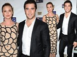 Playing his cards right! Revenge star Josh Bowman shows off Emily VanCamp at poker tournament