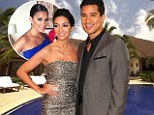 Mario Lopez and Courtney Mazza married in Mexico on Saturday, with Eva Longoria among guests