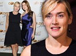 Golden girl! Kate Winslet was radiant in black as she attended the American Christmas Carol Concert in New York