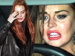 'I was set up': Lindsay Lohan sobs that nightclub fracas 'was NOT her fault'... (and she's got an explanation of course!)