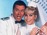 Crazy but kind: Barbara Eden and Larry Hagman on I Dream of Jennie where Hagman displayed some questionable behavior