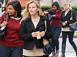 New gal pals? Reese Witherspoon and Mindy Kaling do lunch in Brentwood