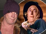 Off to see the Wizard? Mickey Rourke has started to resemble Scarecrow after series of botched plastic surgery