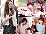 Kate Middleton baby photos seen for the first time