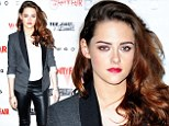 She's a vamp! Kristen Stewart brings sexy back to her red carpet style donning tight leather pants