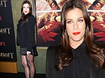 Liv Tyler's endless legs steal the show at The Hobbit's Manhattan premiere... but PETA come close with animal cruelty protest