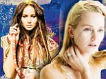 She's a snake charmer! Jennifer Lawrence snuggles up to a serpent as Naomi Watts cries rivers in stunning new photo shoot
