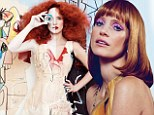 Jessica Chastain has been re-imagined by visual artists George Condo, Rineke Dijkstra, Chantal Joffe and Mickalene Thomas for the magazine's forthcoming Art Meets Fashion edition