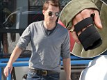 The brace is off! Halle Berry's fiancé Olivier Martinez is on the mend after Thanksgiving brawl