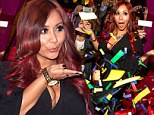 Team Snooky! Reality star shows off deadly curves as she hosts a post fight party in Las Vegas