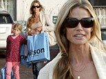Christmas comes early for Lola Sheen as her mother Denise Richards treats her to shopping trip at trendy Kitson