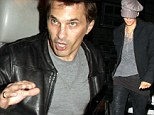Getting some pointers Olivier? Boxing fan Martinez and Halle Berry attend Marquez versus Pacquiao fight after actor's Thanksgiving brawl with Gabriel Aubry