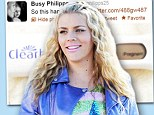 'So this happened!': Busy Philipps tweets picture of positive pregnancy test to announce she's expecting baby No. 2