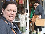 Melissa McCarthy takes her daughter Vivian out Christmas shopping in Los Angeles, CA