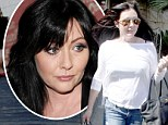 'This is going to sound strange': Shannen Doherty struggles to explain who she is to 911 operator after fan threatens to commit suicide
