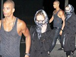 Madonna and her 25-year-old toyboy lover go for midnight stroll on Rio de Janeiro boardwalk