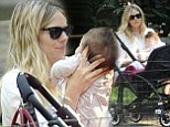 Sienna Miller shares a quiet moment with her adorable baby daughter Marlowe