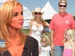 'Our kids are banned from saying my name at Kelsey's house!' Camille Grammer claims ex-husband refuses to 'co-parent' with her