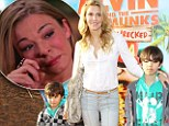 Brandi Glanville fuming after footage of her children with Eddie Cibrian is used on LeAnn Rimes's tearful tell-all E! interview