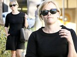 Bouncing back? New mum Reese Witherspoon says she is 'crawling back' to her pre-pregnancy shape