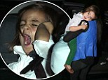 Friday, Dec 14 2012 12AM 6°C 3AM 6°C 5-Day Forecast Look who's tired out! Sleepy birthday boy Mason Disick yawns and nods off as he arrives at Miami restaurant for more celebrations