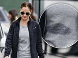 Working up a real sweat! Minka Kelly shows off the results of a high-octane gym session