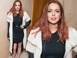 Facing prison and apparently broke... but Lindsay Lohan's rolls up to ANOTHER party!