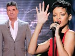 'Simon Cowell will beg Rhianna and Chris Brown to become X Factor judges to save the show': Media mogul to meet stars over Christmas