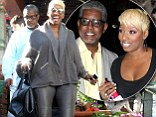 Housewife in leather! NeNe Leakes steps out in tight trousers to celebrate 45th birthday (and brings ex-husband Gregg along too)