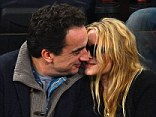 What good sports: Mary Kate and much older boyfriend steal the show at New York Knicks game