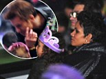 Playing happy families: Halle Berry and Olivier Martinez take Nahla to Disney On Ice in show of togetherness