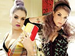 'If you don't like it you have housewife hair': Kelly Osbourne pulls no punches and defends her lavender locks as she models beauty trends